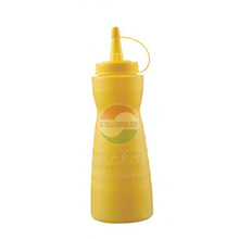 Hot Tomato/Chilli Sauce Bottles High Quality Plastic Squeeze Sauce Bottle