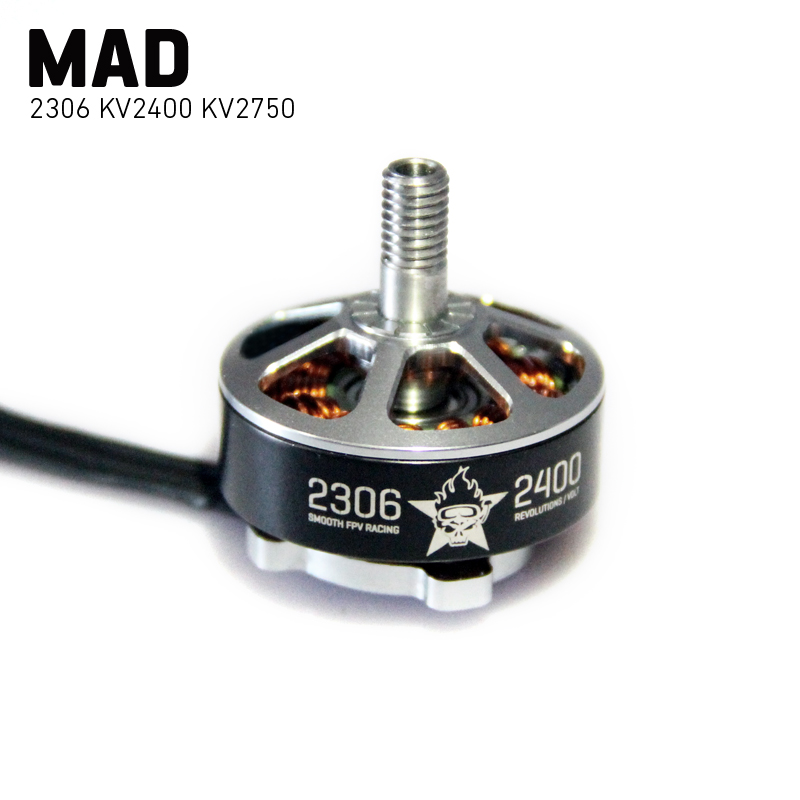 MAD Racer 2306 FPV Series 2400KV 2750KV N52SH Magnets fpv engine motors for FPV Racing Drone Quadcopter