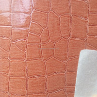 High quality fashion design bag leather for tote bags DG095