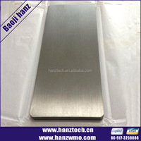ASTMF2063 best price nitinol sheet, titanium nickle plate