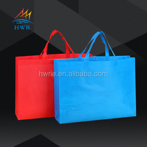 common plain designed cheapest foldable non woven shopping tote bag