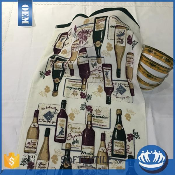 China supplier wholesale tea towel shirt with low price