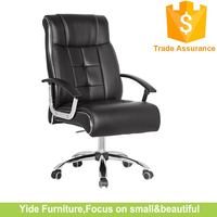 Classical genuine leather office boss chair/manager office