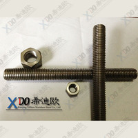 threaded stud hastelloy C276 12mm
