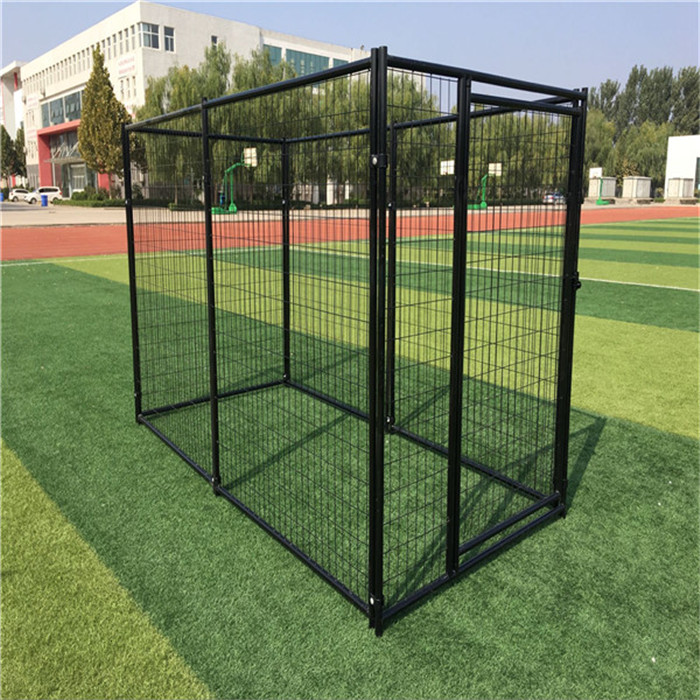 Heavy Duty Lucky Dog 2 x 4 Welded Wire Modular Kennel
