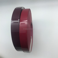 Inida colors plastic pvc edge banding strips with primer good quality
