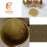 Metallic gold powder coating paint, copper powder pigment