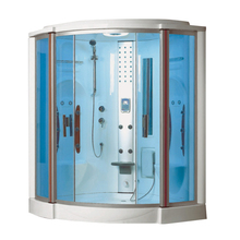 HS-SR2264T best selling steam shower room black/double shower/double steam shower with chairs