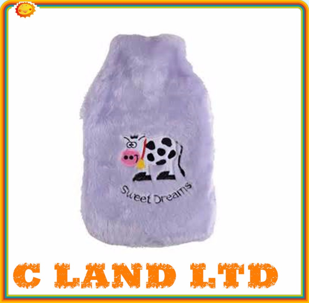 cute cow logo style hot water cover