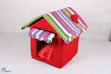 small and medium-sized teddy decorative cheap dog houses for sale