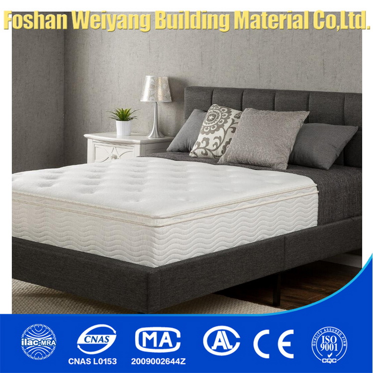 WSS559 Comfortable Foshan dreamland mattress malaysia 30 inch pocket spring mattress