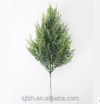 wholesale evergreen artificial branch and leaf for sale