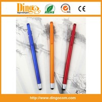 Custom Logo Super Thin Ballpoint Touchscreen Stylus Pens
