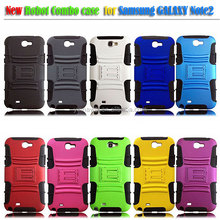 For Samsung Galaxy note 2 Holster Belt Clip Stand Combo Hard Shell Cover Case Accessory