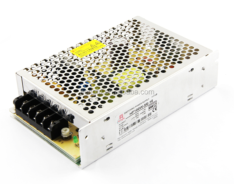 Hengfu power supply HF100W-SE-15 economical single output switching power supply with EMI filter