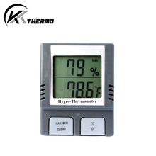 Digital LCD display room temperature measuring household thermometer indoor hygrometer