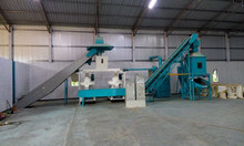 biomass wood pellet production line with automatic lubrication 0086-15805353812