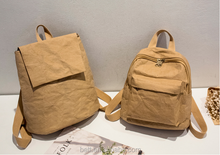 2017 OEM factory waterproof kraft paper backpack,wholesale washable backpack,double shoulder bags