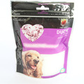 Plastic Dog Pet Food Packaging Bag With Zipper