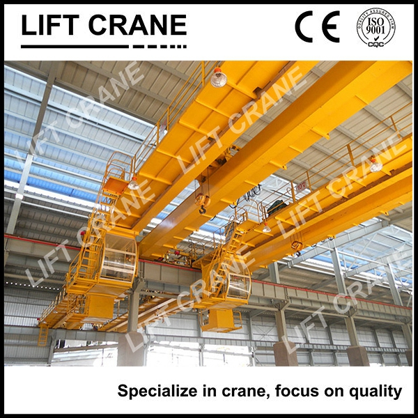 Universal Bridge Crane Products 10T Double Girder EOT Crane With Hook For Workshop Process Reasonable Price Good Quality