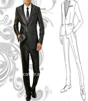 Tailored Business slim fit men's suits