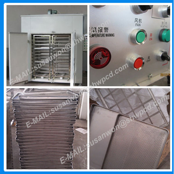 high output salted fish drying machine