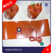 5v 12v make electric silicone rubber Band heating hot pad