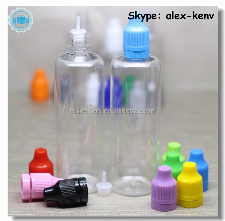 New arrival 100ml PET dropper <strong>bottle</strong> for e juice with childproof and tamper ring cap