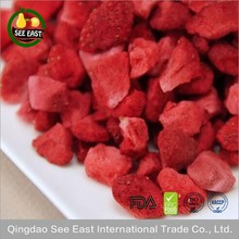 Bulk sale FD Fruit Freeze Dried Strawberry Gradual for candy