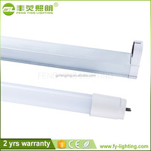 Super high lumen Clear/frosted cover smd 2835 18w t8 led tubes 4ft 1.2m 1200mm