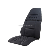 Heating shiatsu back massager, neck and back massage cushion