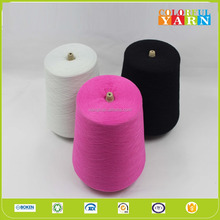 Coolsun cotton polyester blended yarn for knitting machine