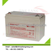 Rechargeable long life lead acid battery 12V 100Ah