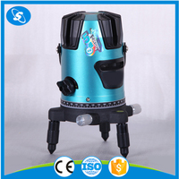 High quality 360 green beam line laser rotating generator laser level