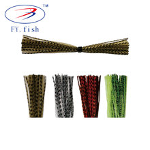 Exquisite workmanship baitfish silicone fishing lure jig skirts in bulk