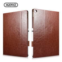 Book Style Shockproof PU Leather Tablet Folio Cover Case for iPad Pro 12.9