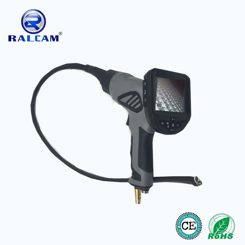 2017 Viewing angle 60 degree Visual Spray-Gun borescope /videoscope