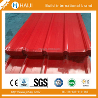 Color corrugated metal steel sheet for roofing panel manufacture direct sailing