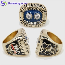1981 New YorK Islanders Bossy Stanley Cup Hockey Championship Ring Popular Index Finger Rings