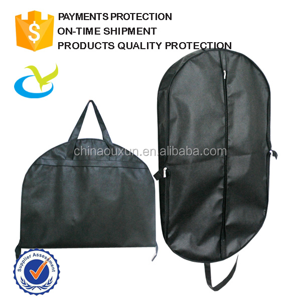High quality pp nonwoven cheap clear dust promotion fashion folding custom men garment suit cover bag