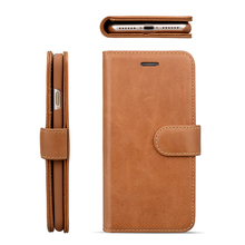 Card holder leather stand function phone cover case for iPhone 8