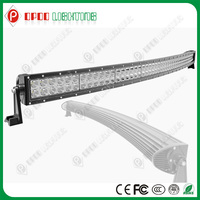 "Big promotion New 50"" 288w CREE Curved led light bar for 4X4 offroad car"