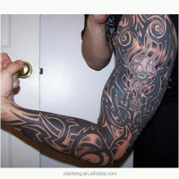 Hot sale sleeve temporary non-toxic waterproof tattoo sticker