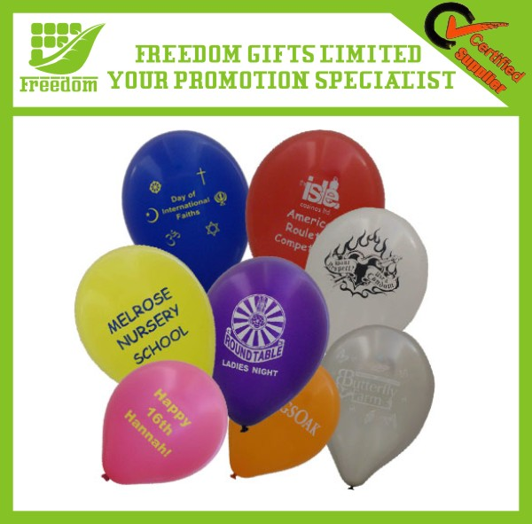 Promotional Logo Printed Latex Balloon