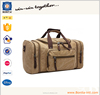 Waterproof unisex high quality large capacity travel bag durable canvas duffel bag weekend bag with strap