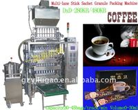 multi-lane stick sachet granule packing machine/coffee stick pack packing machine