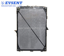 Factory custom made 61447A aluminum radiator core heavy duty use cooling system with support