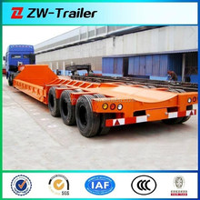 multi axles lowboy for wind blade transportation special semi trailer ( heavy duty )