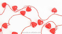 New style heart shaped 3 meters long 30pcs led usb light
