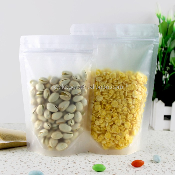 Agricultural product matte finished food bag with cylinders by iso certified companies